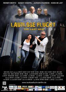 Filmplakat Lautlose Flucht